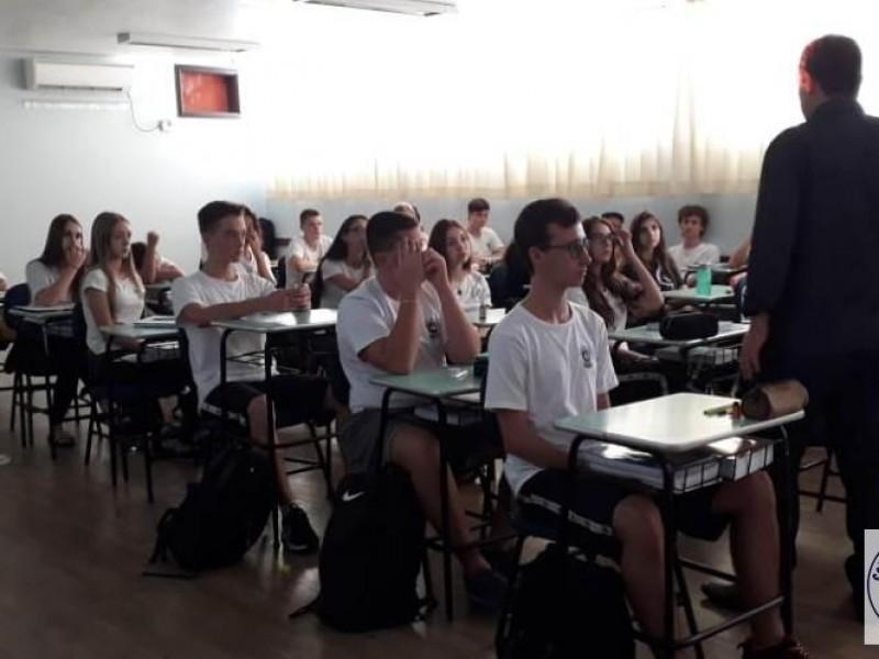Palestras para alunos