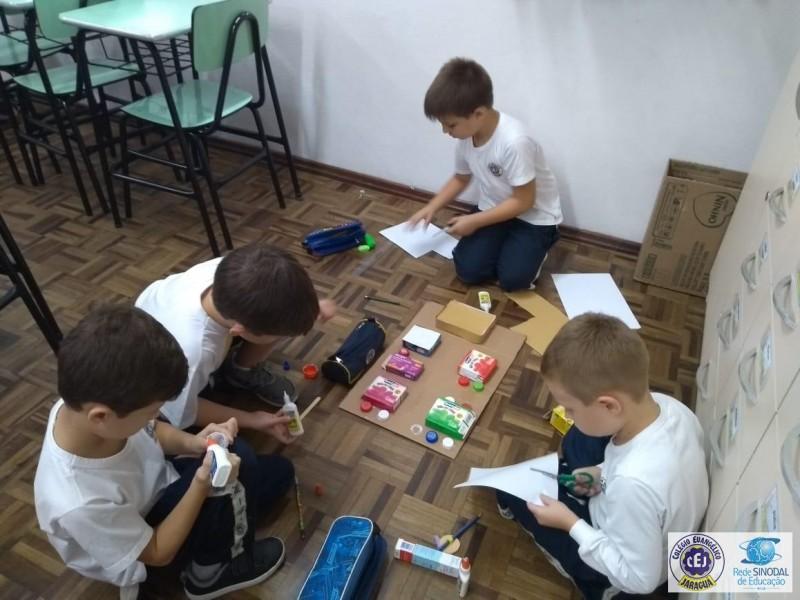 Construindo maquetes!