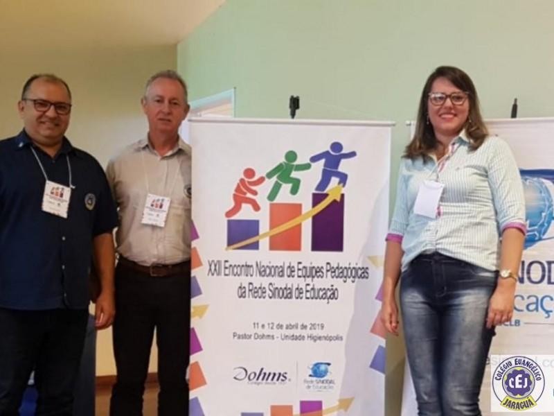 CEJ participa de Encontro Nacional de Equipes Pedagógicas