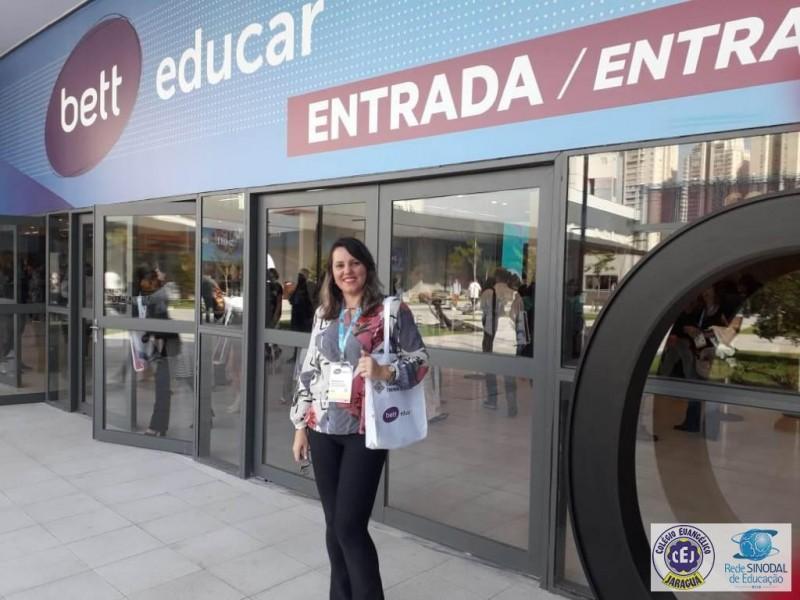 Colégio Jaraguá participa da Bett Educar