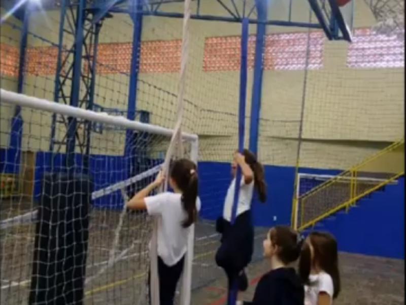 Atividade de circuito nas aulas de Educação Física – 2º ao 5º ano matutino