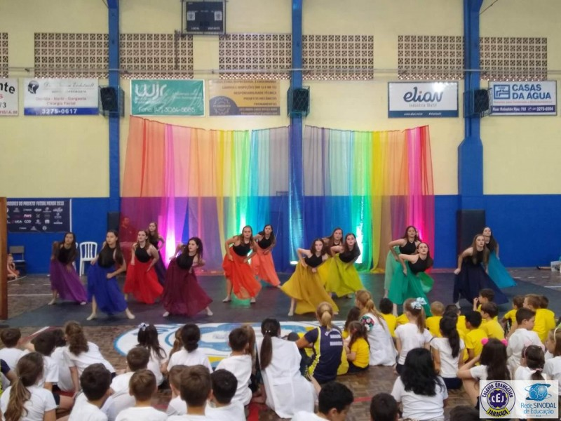 Espetáculo de dança do CEJ - 2019