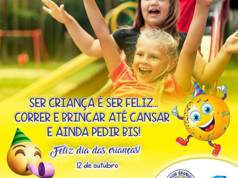 12 de outubro - Dia das crianças!