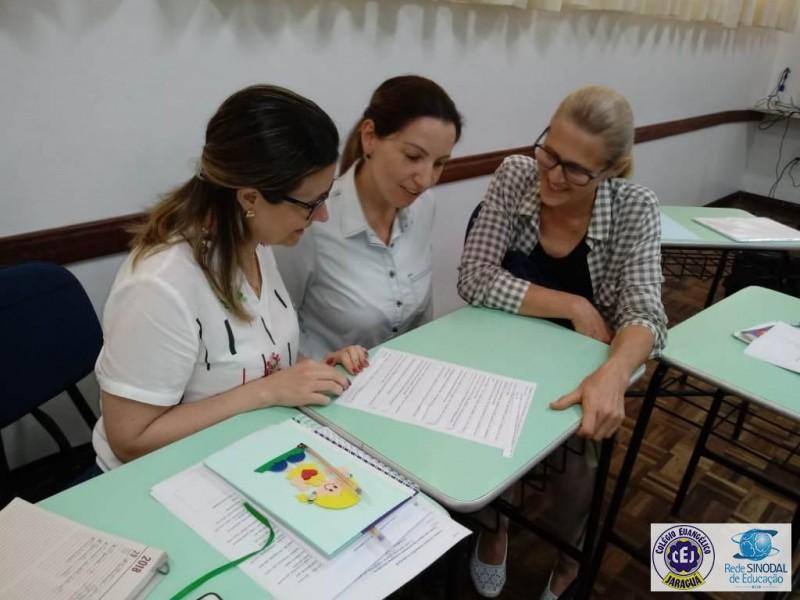 Encontro de formação  da Educação Infantil e 1º ano EF